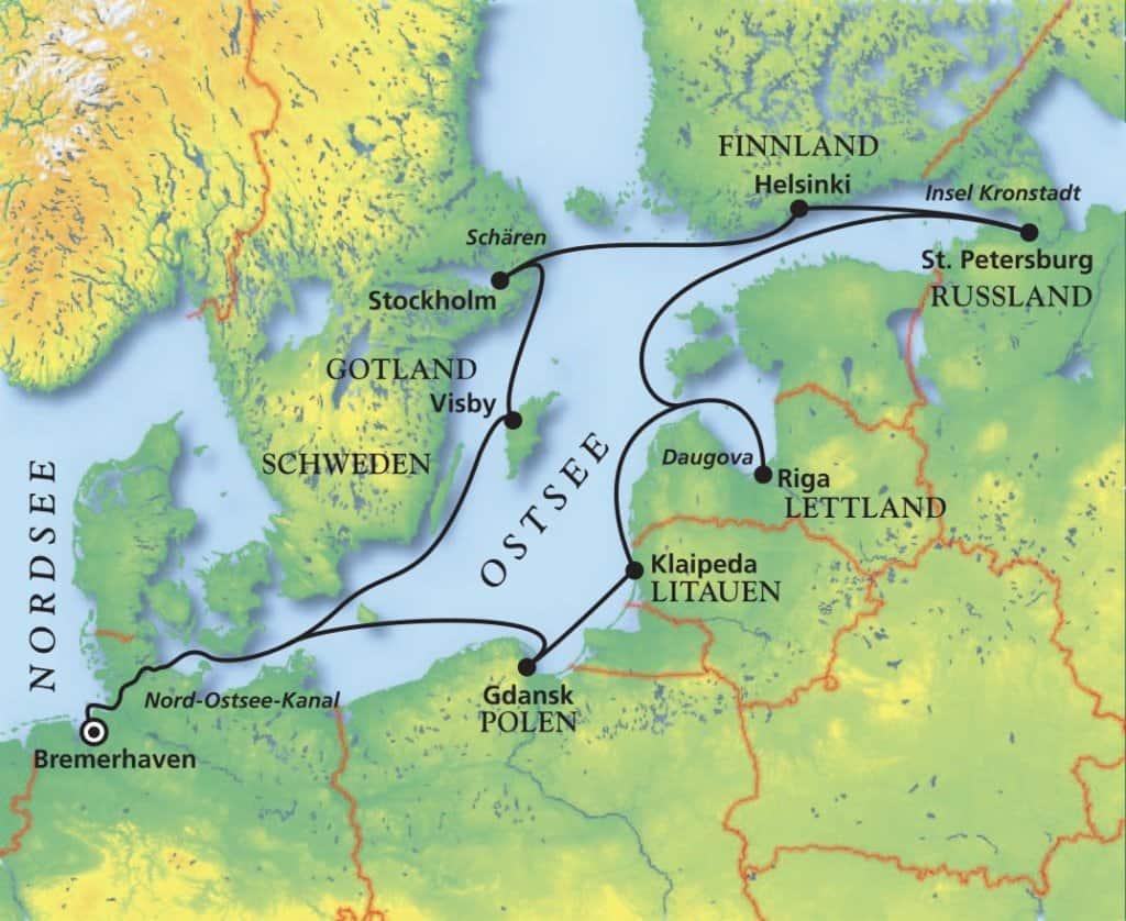 Das Beste der Ostsee mit MS Amera