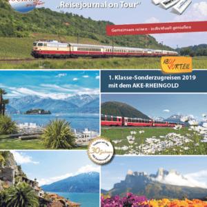 1. Klasse-Sonderzugreisen 2019