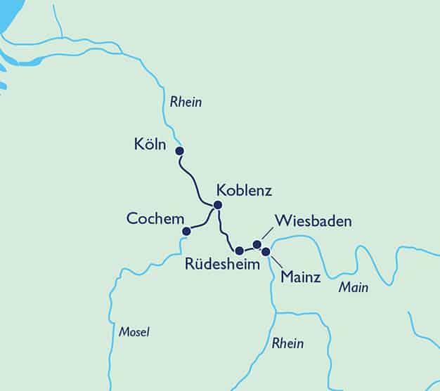 Adventsduft an Mosel und Rhein