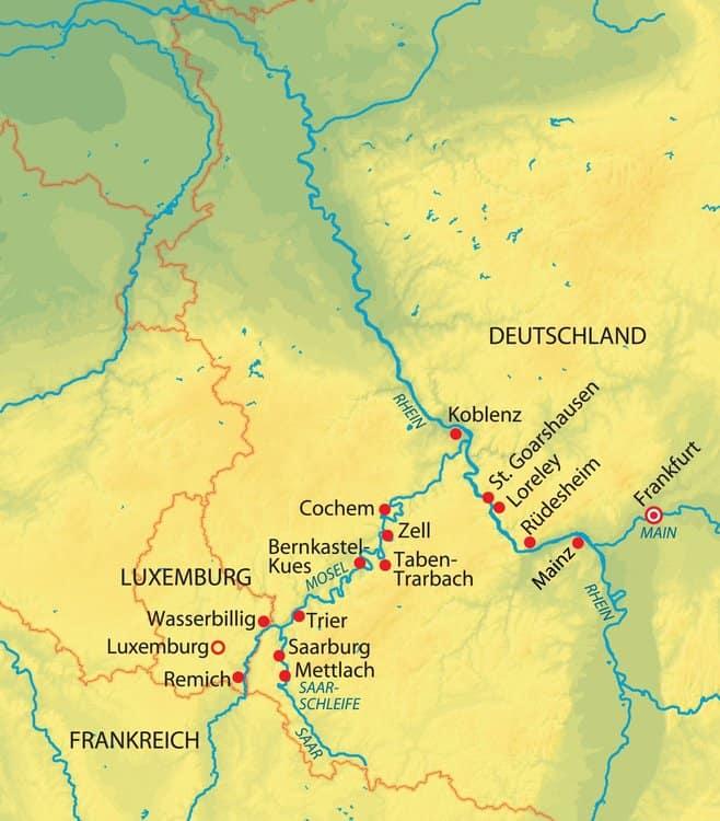 Flüsse-Quartett