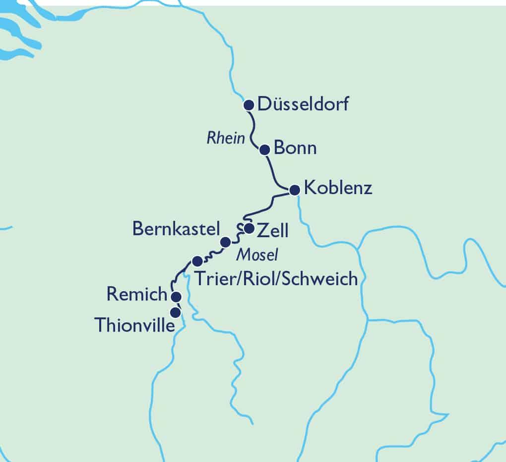 Von der Mosel bis zur Saarschleife