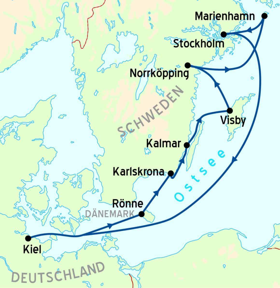 Schwedischer Küstenzauber – Bilderbuch des Nordens