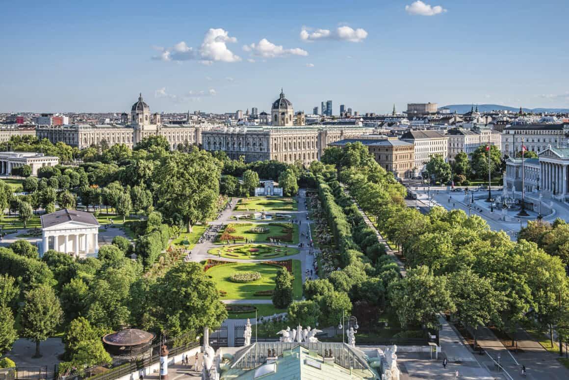 Frühling in der Donaumetropole Wien