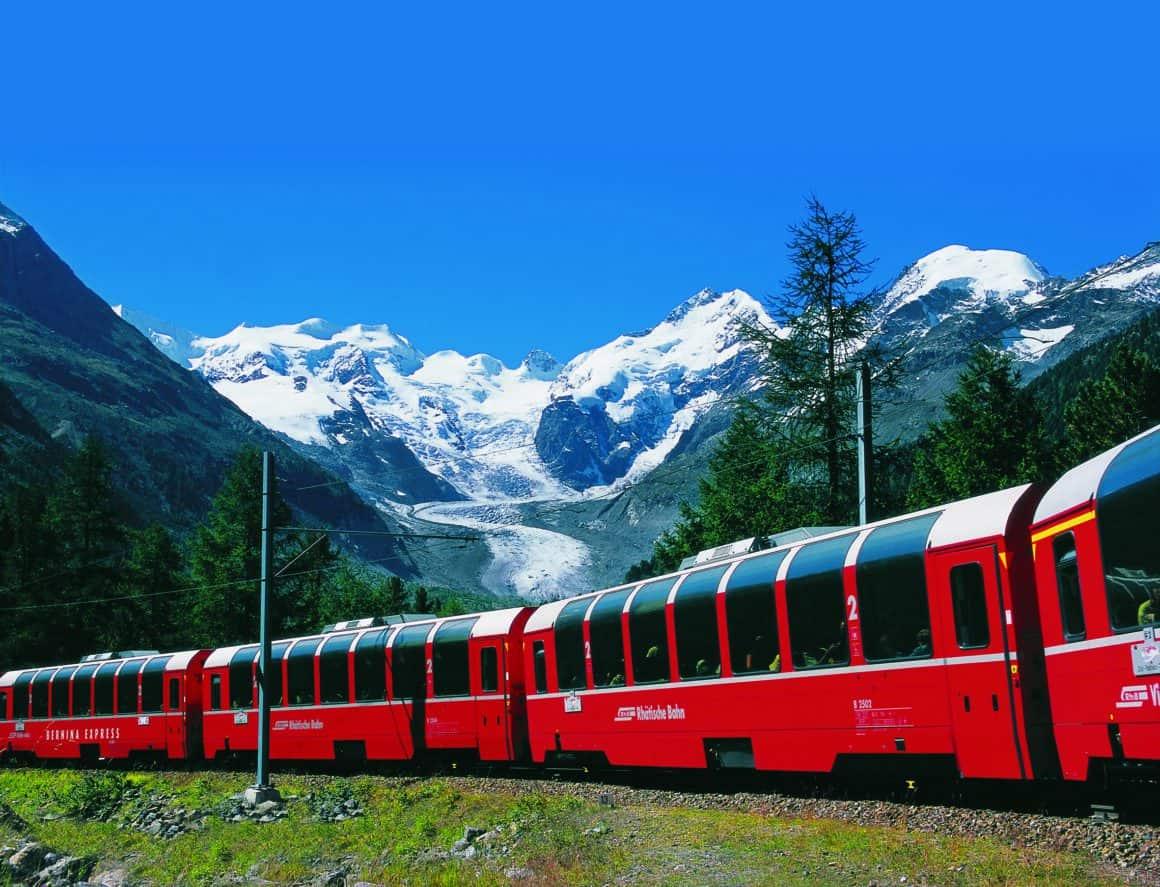 Davos und Zermatt mit Glacier- und Bernina-Espress